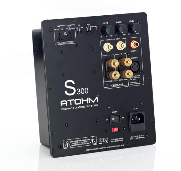 Atohm_S300_subwoofer_amplifier